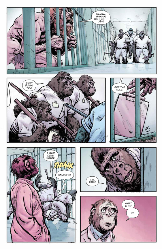 Planet of the Apes: Visionaries preview page 15