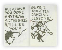 The Hulk has moves