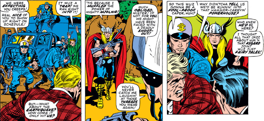 Thor Has Street Cred As Well.