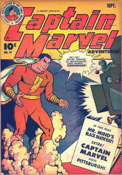 Captain Marvel Adventures #39