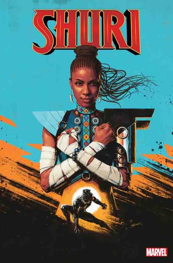 Shuri #1 cover by Sam Spratt