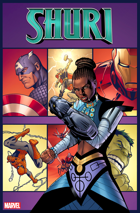 Shuri #1 Pacheco variant cover