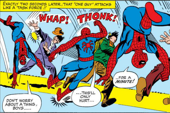 The Amazing Spider-Man. Greetings With Your Beatings.