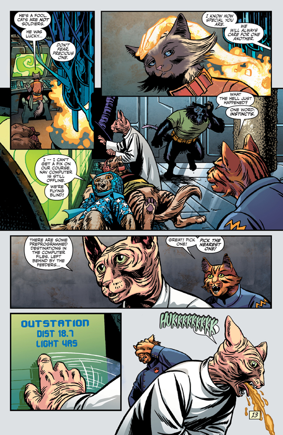 Captain Ginger #1 preview page 2