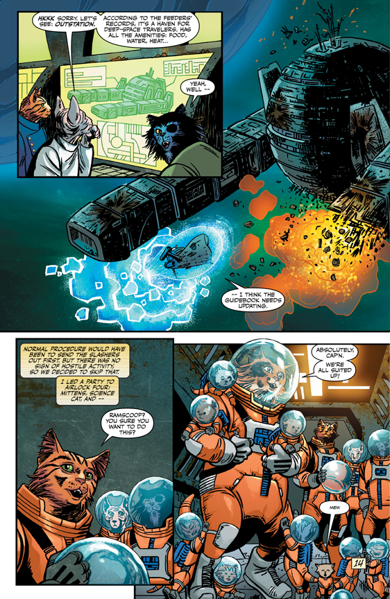 Captain Ginger #1 preview page 3