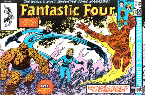 The Fantastic Four Unity In Uniforms.