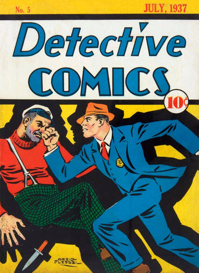 Speed Saunders graces the cover of Detective Comics #5