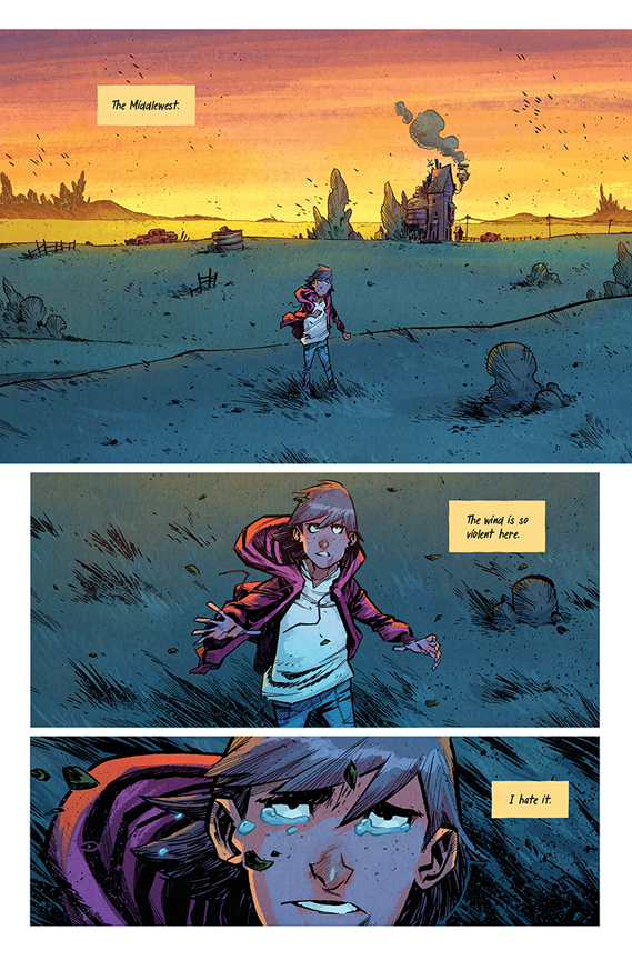 Middlewest #1 preview page 1