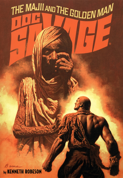 Doc Savage-The Majii And The Golden Man