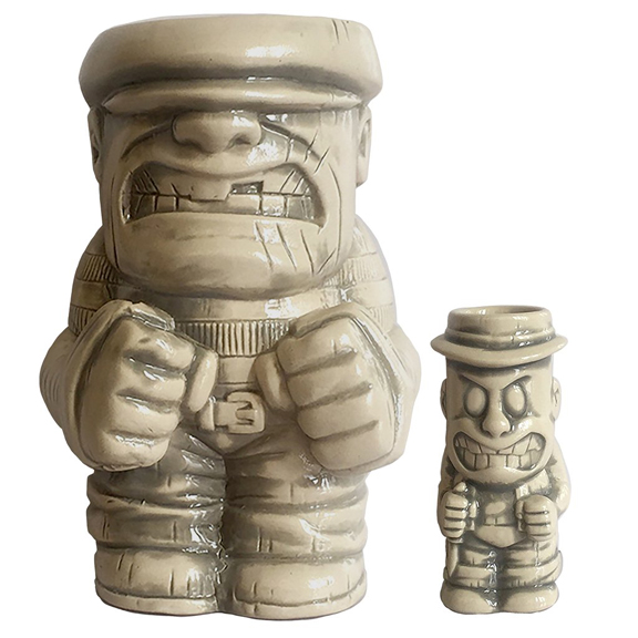 Goon and Franky tiki mugs