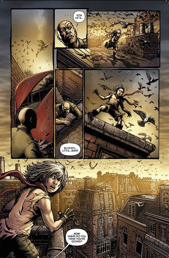 Oliver #1 preview page 2