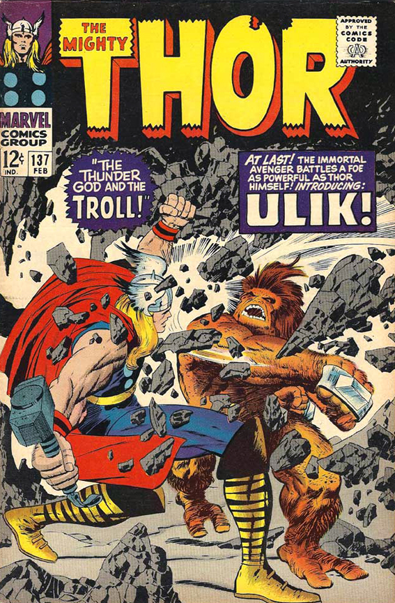 Great Cover, Great Villain…I Didn't Like Thor As A Kid.