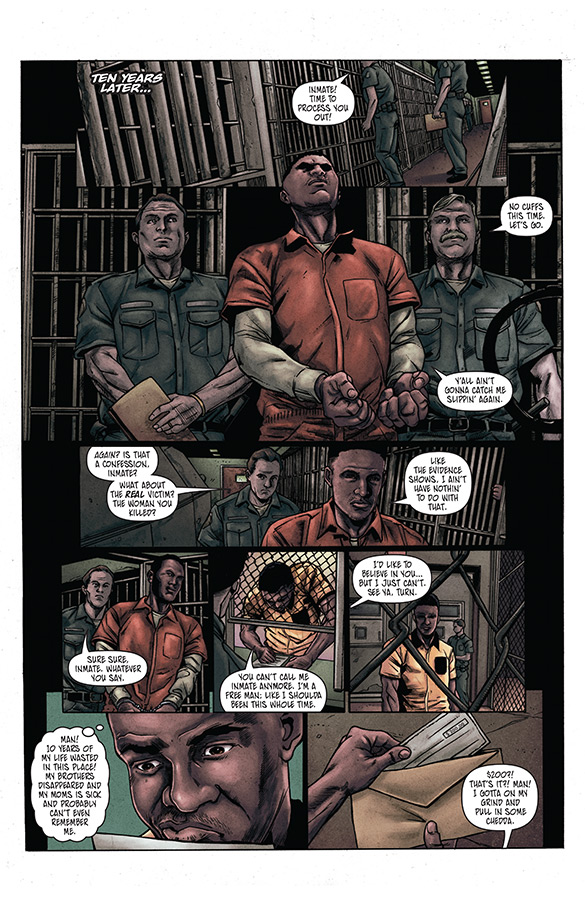 Vindication preview page 2
