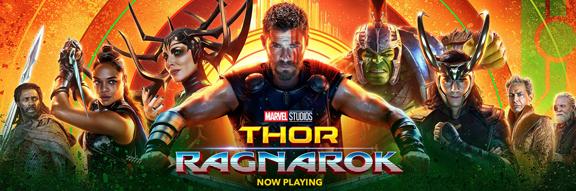Thor Ragnarok Marvel Studios Style.