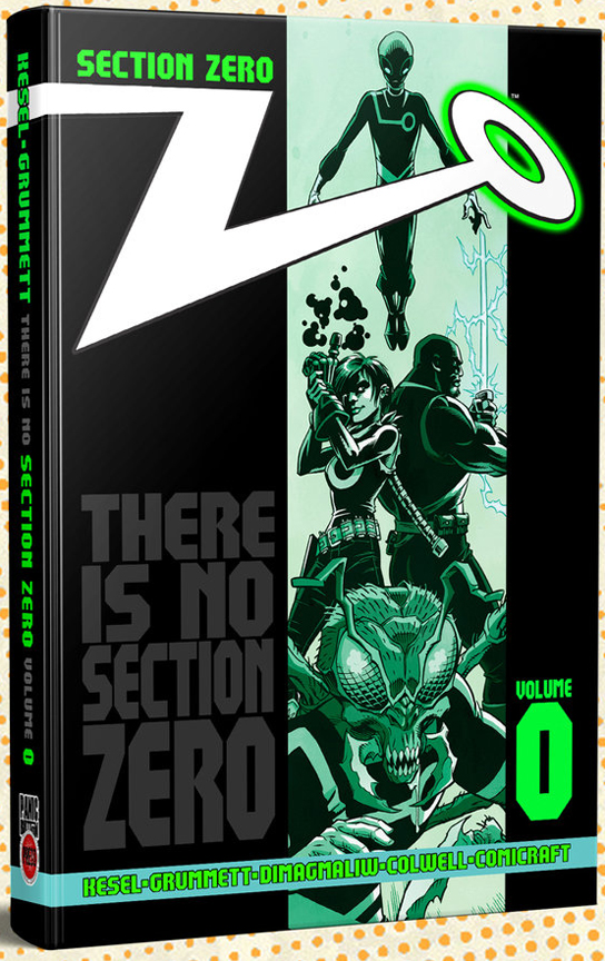 Section Zero Ultra-Cool Collector's Edition HC