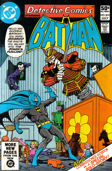 Detective Comics #504