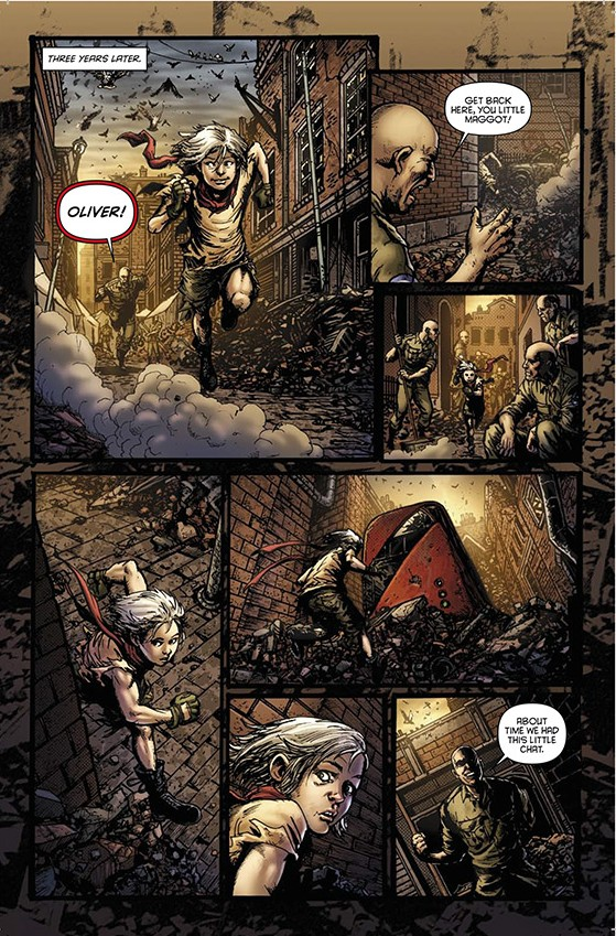 Oliver #1 preview page 1