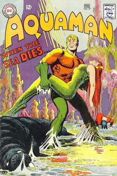 "Aquaman: ""I don't ride a sea horse anymore."""
