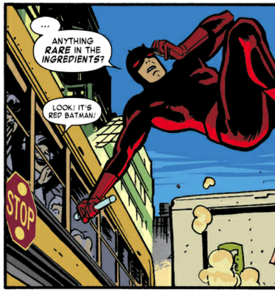 """Daredevil has been ""Churched Up."""