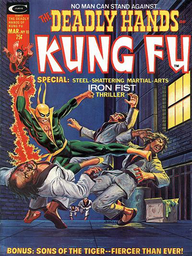Deadly Hands of Kung Fu #10