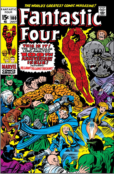 Fantastic Four Issue 100