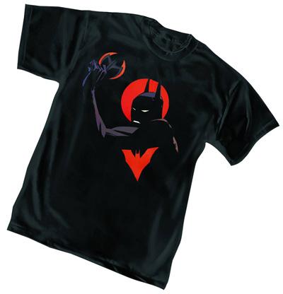 Image batman beyond shadows t shirt xxl